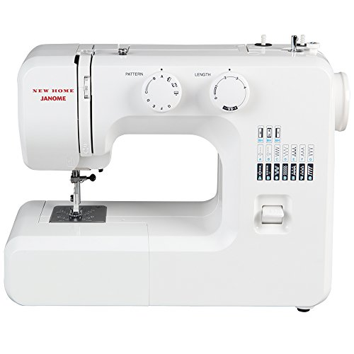 Janome 41012 Portable Mechanical Sewing Machine,White