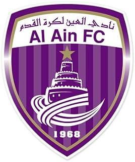 Al Ain Sports Cultural Club - United Arab Emirates Football Soccer Futbol - Car Sticker - 5