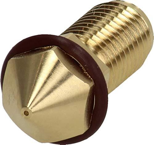 BROZZL Ultimaker 3 (AA) - Ugello in ottone, diametro 0,4 mm, per stampanti 3D
