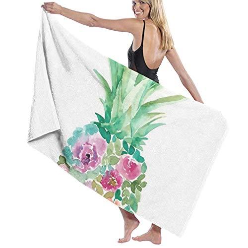 Paint Art - Toalla de baño (secado rápido, suave, 130 x 80 cm)