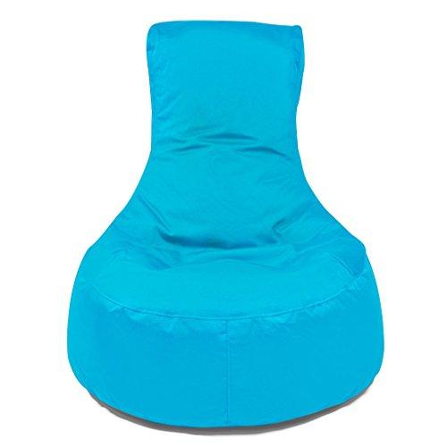 Outbag Sitzsack Slope Plus Aqua, ca. 85x30x90 cm