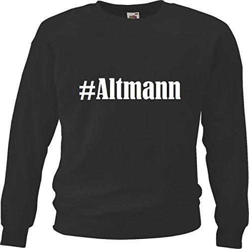Reifen-Markt Sweatshirt #Altmann Größe 2XL Farbe Schwarz Druck Weiss