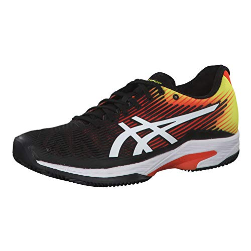 ASICS Herren Tennisschuhe Solution Speed FF Clay rot/gelb (710) 43,5EU