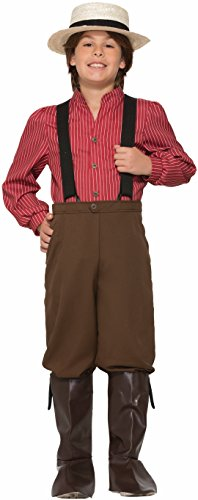 Forum Novelties Boys Pioneer Costume, Multicolor, Medium