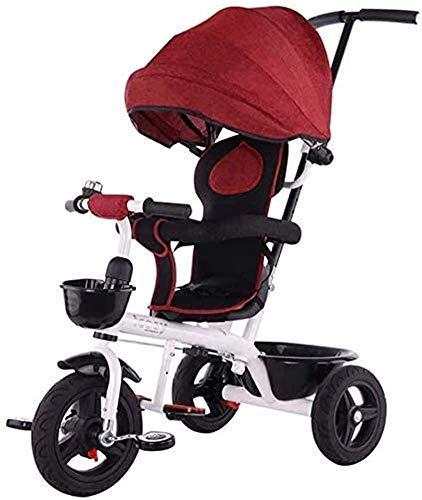 CENPEN Bicicleta Triciclo, KidsLight Kid Cochecito portátil y la Seguridad del Coche de los niños con el Pedal del pie de Comodidad de los Asientos Sistema de Frenos adecuados for niños de 1/6
