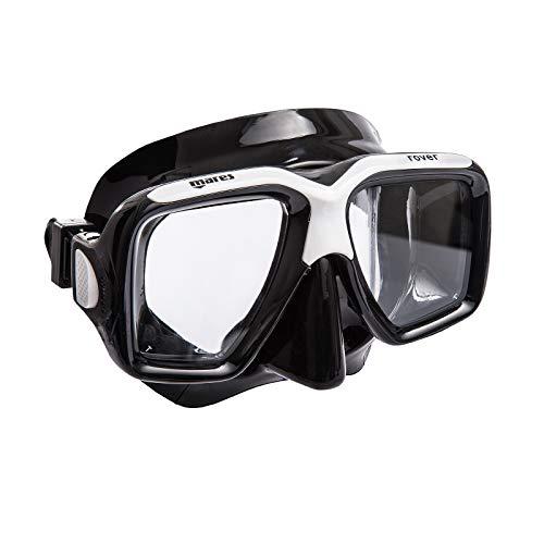 Mares Mask Rover Taucherbrille, Schwarz, BX