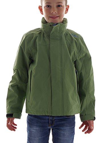 CMP Regenjacke Funktionsjacke Wetterjacke grün Kapuze Winddicht WP3000 3X74074 (38)