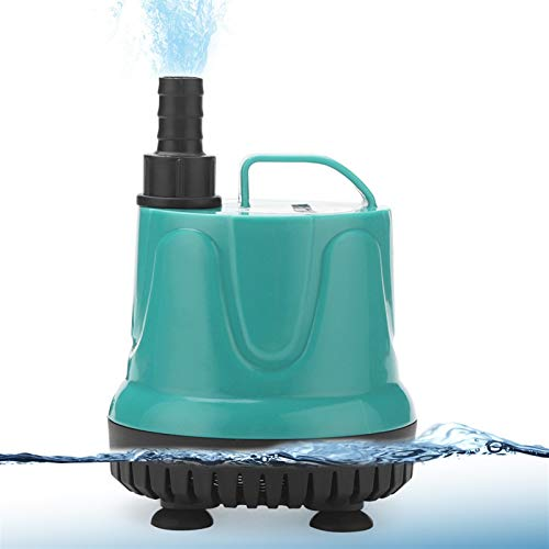 Fish tank submersible pump 3W 6W 10W 15W 25W super quiet submersible fountain pump filter fish pond aquarium water pump fish tank fountain 220V-240V For Garden/Aquarium/Fish Tank ( Power : 5W )
