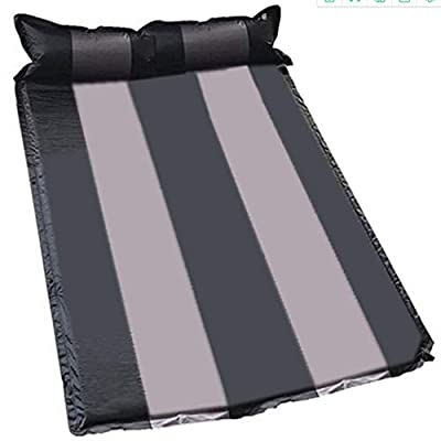 iisffe Air Mattresses inflatabled by self Cushion Waterproof Portable Camping Universal Deluxe Pillow Rest Raised Airbed