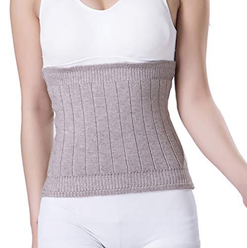 YUPPIE TONE Warm Cashmere Waistband Abdominal Protector Unisex Kidney Stomach Binder Waist Support Protector Belt Camel M