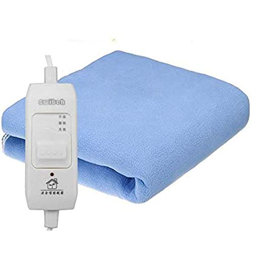 ZLZNX Electric Blanket, Super Soft Winter Warm Heater for Body Electrica with 8Hours Automatic Power off and Overheating Protection Heated Blanket,145 * 65cm