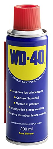 Antiumidità: la forte aderenza del prodotto stabilisce una barriera perfetta contro l' umidità. WD-40si infiltra sotto l' umidità in la Chassant e copre completamente le superfici Anticorrosivo: assicura una protezione contro l' acqua, l' umidità e ...