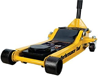 Performance Tool W1645 3 Ton (6,000 lbs.) Capacity Professional Low Profile Floor Jack