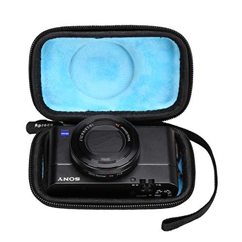 Aproca Hart Schutz Hülle Reise Tragen Etui Tasche für Sony DSC RX100 II III IV VI VII Cyber-Shot Digitalkamera