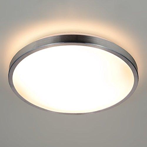 LED/Halogen Deckenlampe ROMI Deckenleuchte Aluminium 230V IP20 E27 Fassung Innenlampe Deckenlampe Deckenstrahler Flurleuchte