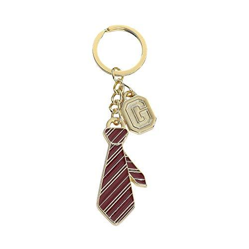 TimeCity Harry Potter Schlüsselanhänger Gryffindor Krawatte 9,3cm Metall