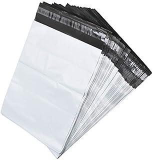 FungLam 宅配ビニール袋 宅配ポリ袋 宅配袋 梱包 配送用 強力テープ付き 38.1x48.3cm【100枚】
