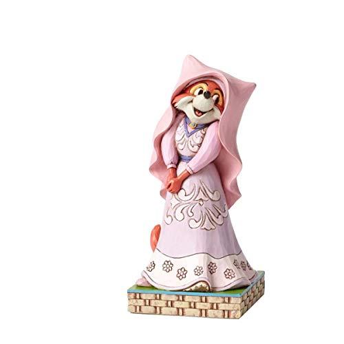 Enesco Disney Traditions 4050417 Figurine Marianne de Robin des Bois Joyeuse Figurine Multicolore 15 cm