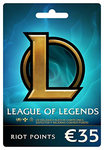 League of Legends €35 Tarjeta de regalo prepaga (5000 Riot Points)