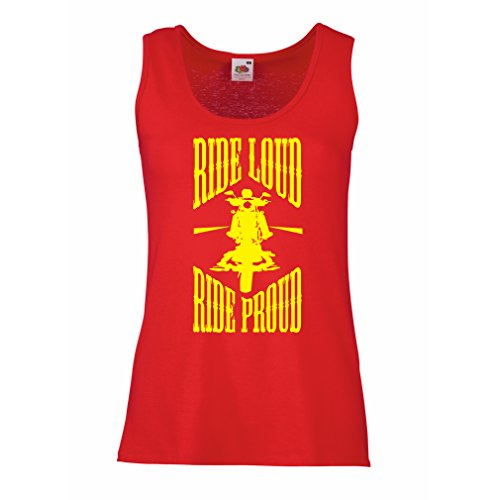 lepni.me tanktop voor dames Ride Loud!