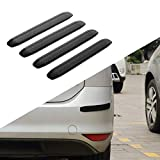 JoyTutus Rubber Strips for Car Bumpers Side for Car Pickup Truck Uiversal SUV Anti-Scratch Rear Car Bumper Protector Back (4 Packs)