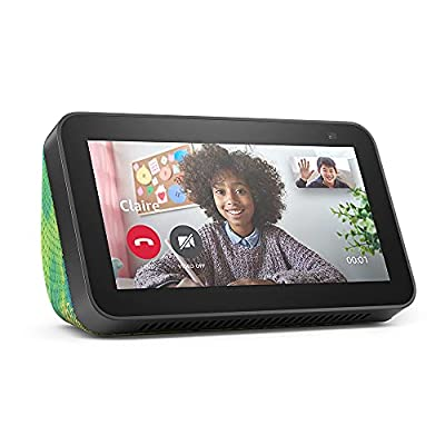 Introducing Echo Show 5 (2nd Gen) Kids   Designed for kids, with parental controls   Chameleon by Amazon