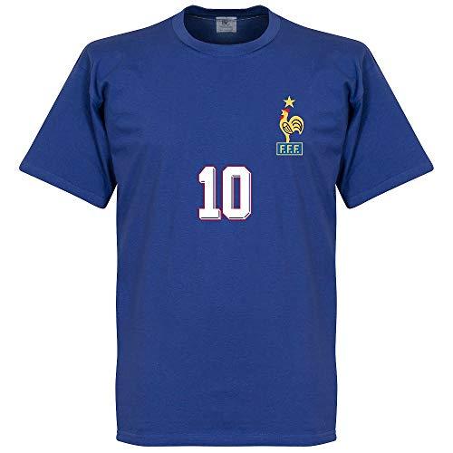 Zidane 1998 Home T-Shirt - blau - M