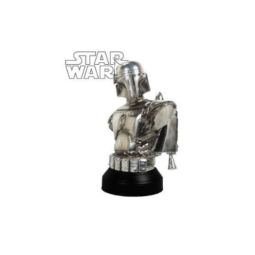 Star Wars: Episode II: Attach of the Clones MBNA Galactic Rewards Exclusive Jango Fett Chrome Mini-Bust image