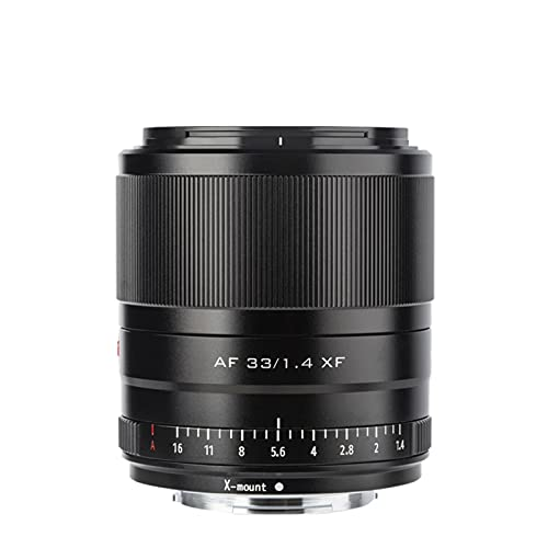 VILTROX 33mm F1.4 STM XF富士フイルム Xマウントカメラレンズ 固定焦点レンズ APS-C F1.4大口径 瞳AF 単焦点レンズ Fujifilm X-PRO1 Pro2  X-S10 X-T1  T 2 T3 X-T10 T20 T30などに適用