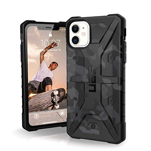 URBAN ARMOR GEAR UAG Designed for iPhone 11 [6.1-inch Screen] Pathfinder SE Feather-Light Rugged [Midnight Camo] Military Drop Tested iPhone Case
