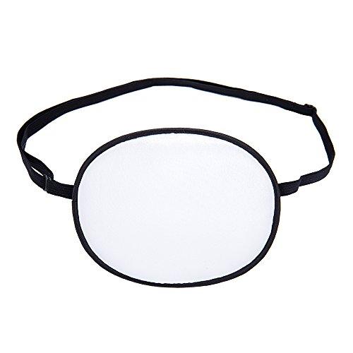 FMS Seide Elastischer Augenklappe behandeln Erwachsene Kinder Faule Auge/Amblyopie/Strabismus