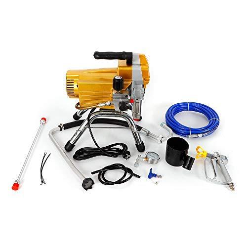 395 Pulverizador Airless de alta presión Máquina de pulverización de pintura de pared (2200W amarillo)