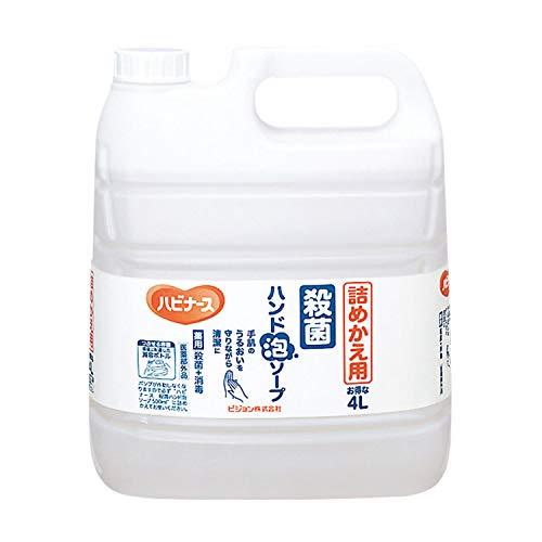 ハビナース 殺菌ハンド泡ソープ 詰替 (4L)