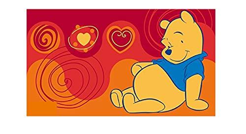 Kinder Teppich Kinderteppich mit Winnie the Pooh / Teppich / Kinder Teppich / Kinderspielteppich / Kinderteppich / Wandteppich / Modell Kinderteppich Winnie the Puuh Bär / Dieser wunderschöne und Kinderteppich mit Winnie ist in der Größe 50 x 80 cm