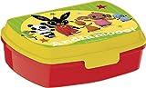 Bing Sandwich Box per Bambini, Giallo/Rosso