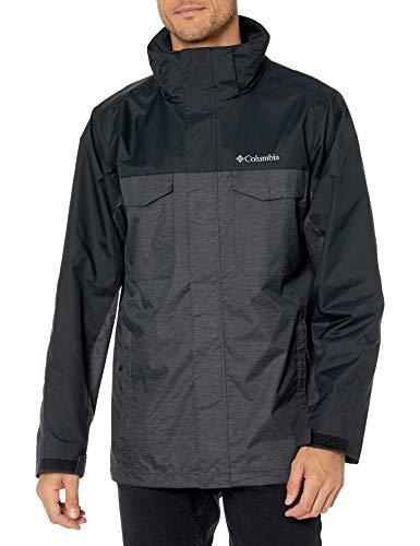 Columbia Timberline Triple I/C Jacket Chaqueta aislada, Shark Jacquard Textura/Negro, S para Hombre