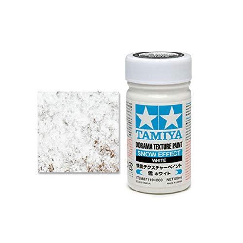 Tamiya 87119 Modellbau-Spachtelmasse Schnee-Weiß 100 ml