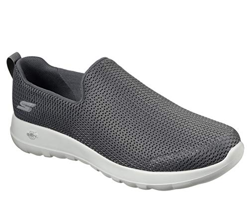 Skechers mens Go Walk Max-Athletic Air Mesh Slip on Walking Shoe,charcoal,7.5 EEE US