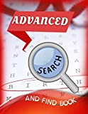 Advanced Search And Find Book: Ultimate Variety Word Puzzle Book - Lower Your Brain Age Word Search With Super Scrabble Crossword Game, The ... Search Book Word Find With Hidden Message