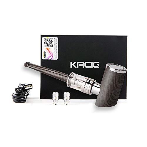 Kit de démarrage Kamry K1000 Plus Vape, tuyau en bois classique pour clope électronique, vapeur grand 1000mah...