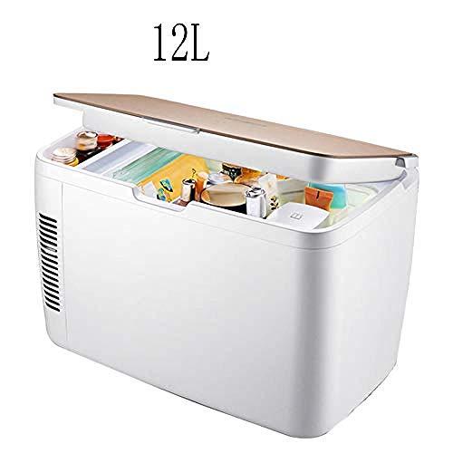 wangt 12 l compacte koelkast, stille elektronische mini-koelkast, cosmeticakoeler, intelligente koelbox-layered isolatie