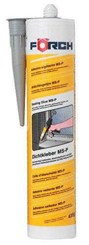 Förch Dichtkleber grau MS - Polymerkleber Kartusche 435 g für innen und außen