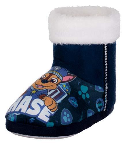 Brandsseller - Zapatillas de casa para niño con motivos en estilo de la Patrulla Canina, color Azul, talla 25/26 EU
