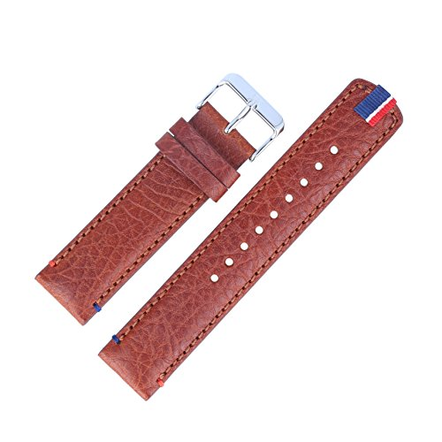 Tommy Hilfiger Uhrenarmband 22mm Leder Braun - 679301739
