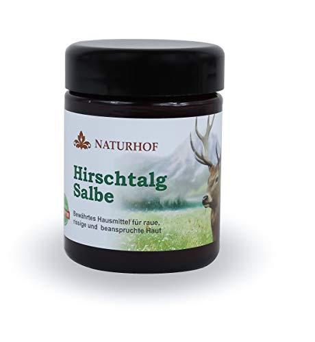 Hirschtalg Salbe 100 ml für raue rissige beanspruchte Haut Nauturhof Hirsch Talg tägliche Pflege Hausmittel