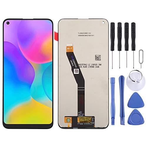 LENASH Reemplazo para Huawei Honor Play 3 LCD Pantalla táctil de Pantalla táctil y Reemplazo de Pantalla táctil de Vidrio con Herramientas de reparación (Negro) (Color : Black)