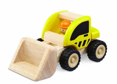 Wonderworld WW-4005 Fahrzeug Bagger 9 x 14 x 14 cm, gelb