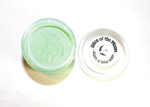 Green briller dans les ténèbres poudre 28 grammes, à base d'huile, Réactif aux UV Poudre pour vernis à ongles, les arts et l'artisanat, la tranche de