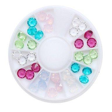 MZP 1pcs Manucure Dé oration strass Perles Maquillage cosmétique Nail Art Design