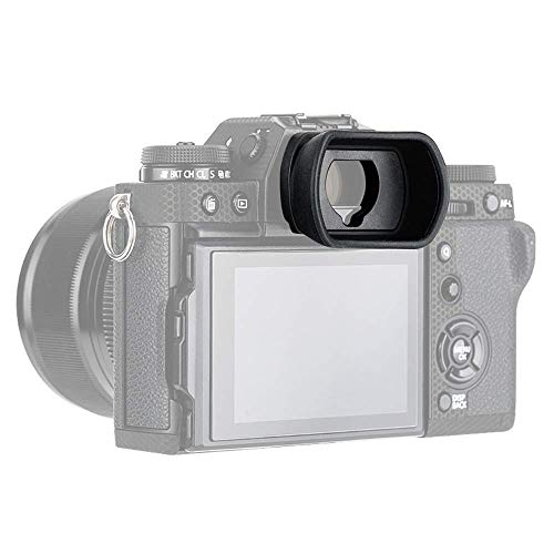 PROfezzion Grandi Estese in Morbido Silicone Oculare per Fujifilm X-T4 X-T3 X-T2 X-T1 X-H1 GFX100S GFX100 GFX50S Fotocamera Sostituisce Fuji EC-XT L, EC-GFX, EC-XT M, EC-XT S e EC-XH W Eyecup